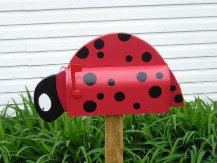 Ladybird mailbox