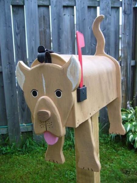 pitbull mailbox