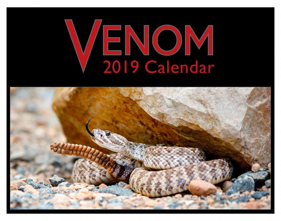 Venom 2019 Calendar Cover