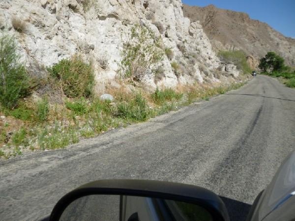 Low Desert road
