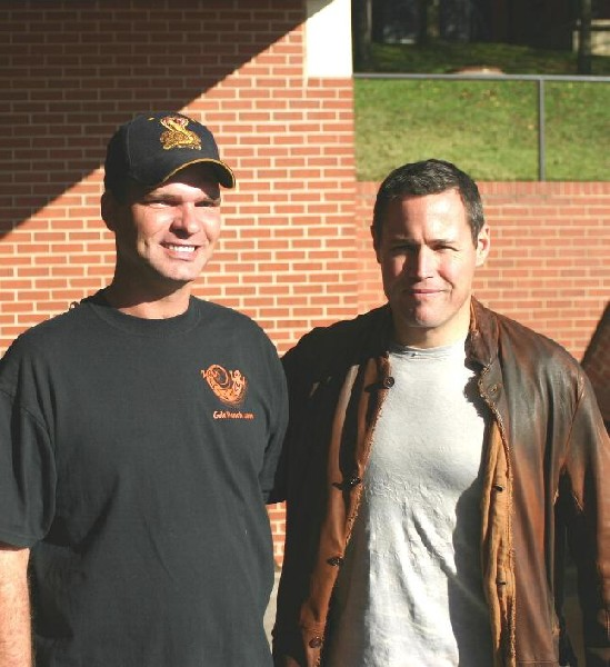 Me with Jeff Corwin