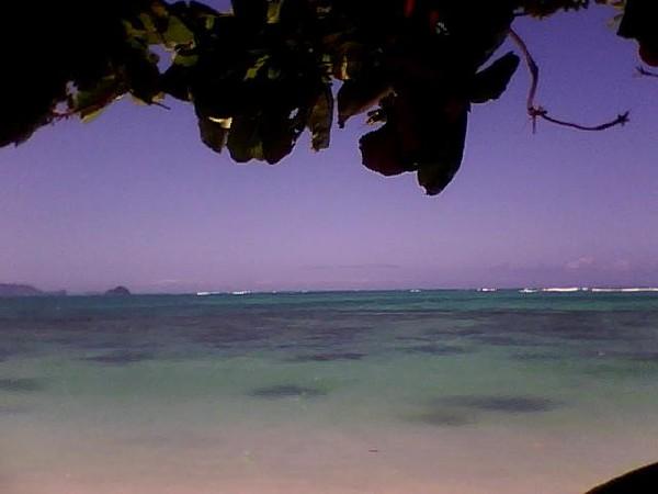 Toward Kailua