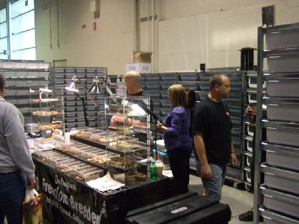 Reptile Supershow, Pomona California, January 8/9, 2011 Los Angeles County
