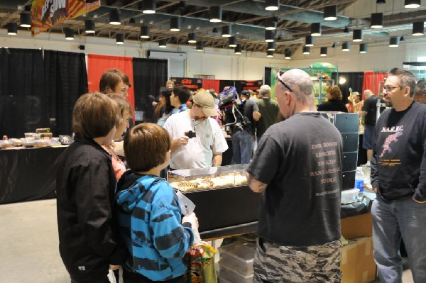 Kerry King at the Reptile Super Show