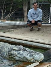 Quão grande pode ser? - Crocodilianos gigantes 9314Uthan_and_Paul